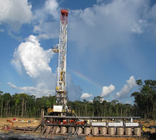 Drilling Rig 115